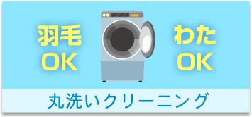 丸洗いクリーニング